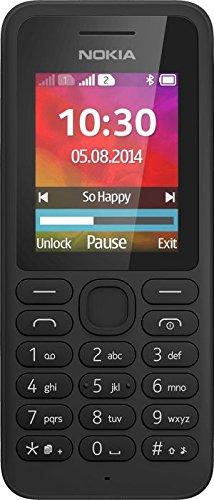 """Nokia 130 DS TA-1017 1.8"""" 68g Nero Caratteristica del telefono [Germania]"""
