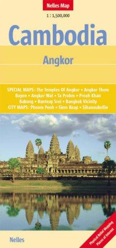 Télécharger Cambodia Angkor Nelles Map Livre Pdfepubkindle