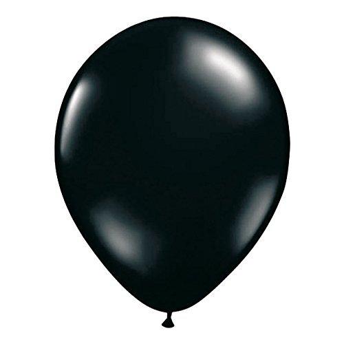 Gelb Ballon Elfenbein (Luftballons schwarz 10er Pack)