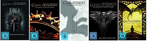 Game of Thrones - Staffel/Season 1+2+3+4+5 * DVD Set (A Game Of Thrones Dvd Box-set)