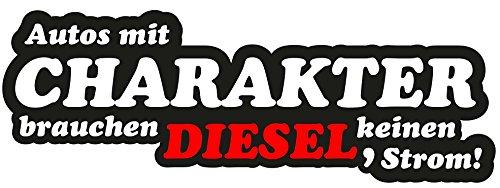 """Aufkleber Autos mit Charakter\""""Motiv Diesel\"""" JDM Feinstaub OEM Plakette Fun Lustig Oldschool Oldtimer Stickerbomb Umweltplakette Feinstauberzeuger Strom E-Auto"""