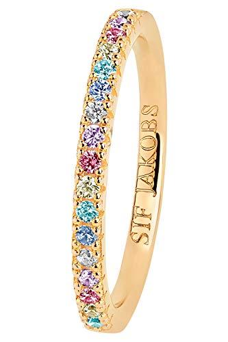 Sif Jakobs Jewellery Damenring Ellera Ringgröße 52/16,6 SJ-R2869-XCZ(YG)/52