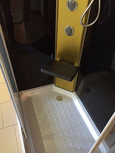 Dusche Duschkabine Duschtempel Duschabtrennung Fertigdusche Eckdusche Komplett Portofino - 5