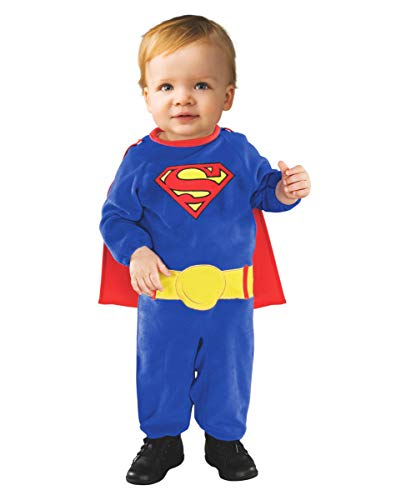 Horror-Shop Superman Kostüm für Babys (Kostüm Baby Superman)