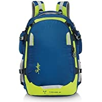 Skybags Polyester 40Litres Blue Laptop Backpack