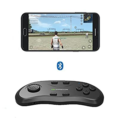 Android Wireless Game Controller, Bluetooth Remote Controller, Wireless 3D VR Glasses Controller Ergonomically Designed Gaming Controller Gamepad Joystick Joypad