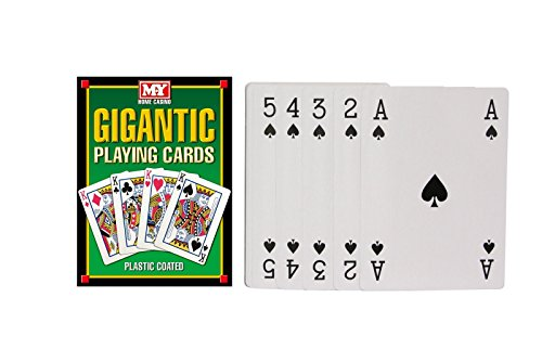 MY Games Giant A4 Playing Cards