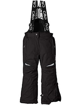 CMP Hose Skihose - Mono de esquí para niña, color negro, talla 176 cm