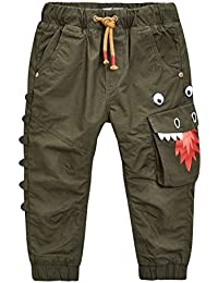 next Pantalon À Enfiler Doublé Motif Dragon (3Mois À 6 Ans) Garçon