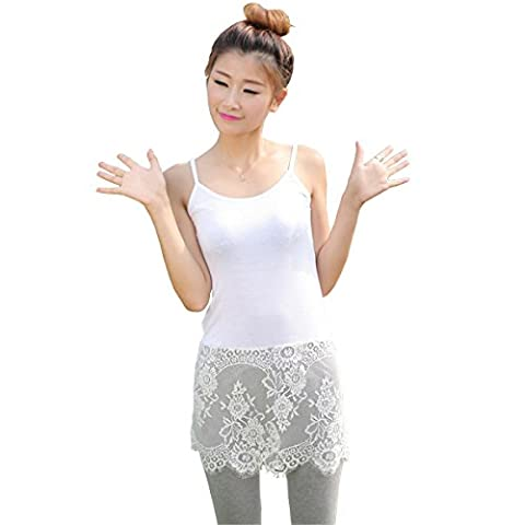 Fengwu - Caraco - Femme Large - blanc - 40