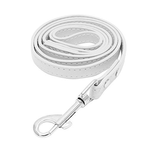 Pengyu Haustier Halsband Leine für große mittleren Terrier Traction Seil, Gurt, Kunstleder (Gurt Leine Seil)