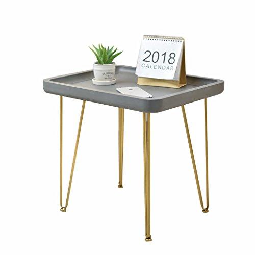 Hongsezhuozi Tische Tee Tisch Couchtisch American Minimalist Imitation Zement Wohnzimmer Einfach...