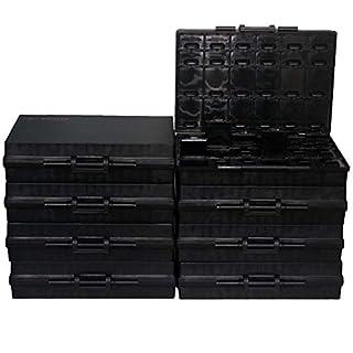 AideTek Boxall48 ESD Safe Gehäuse für Oberflächenmontage-Komponenten Pinzetten, 8 Stück