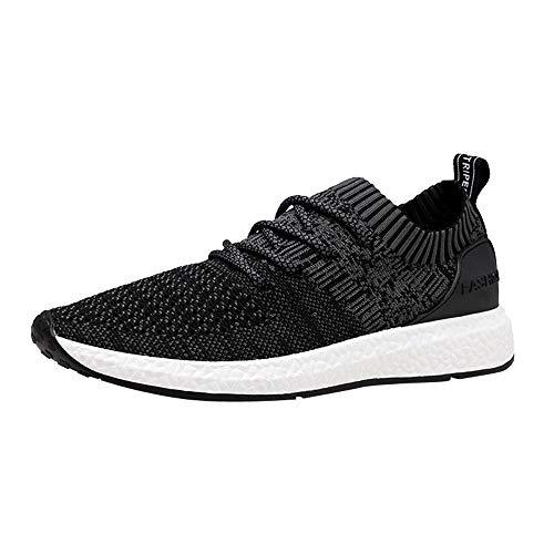 Schuhe Herren Sneaker | Holeider Laufschuhe Sportschuhe Mode | Turnschuhe Freizeitschuhe Atmungsaktiv Leichte Bequem Fitnessschuhe für Männer Schuhe Freizeit Outdoor - Blau-tennis-schuh