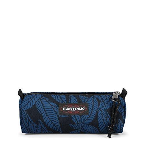 Eastpak Benchmark Single Trousse, 21 cm, Bleu (Leaves Blue)