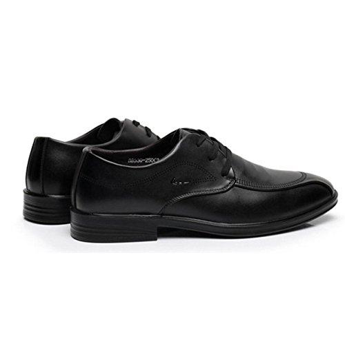 Autunno Vestiti Scarpe Da Uomo Uomini Affari Tempo Libero Scarpe Fondo Morbido Scarpe Di Pizzo Scarpe Black