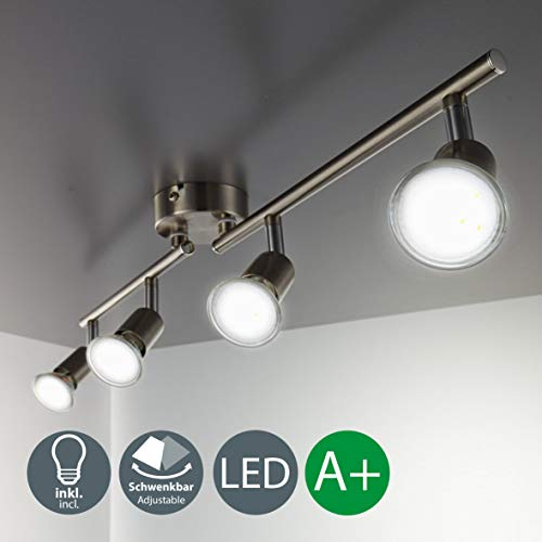 B.K.Licht LED ceiling light rota...