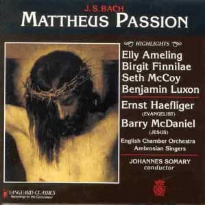 Bach: St Matthew Passion (highlights)