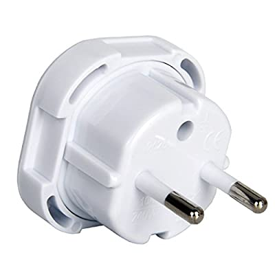 Gadgets Hut UK - 2 x UK to EU Europe European Travel Adapter suitable for France, Germany, Spain, Egypt, China - Refer to Product description for Country list