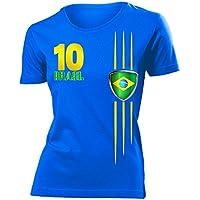 love-all-my-shirts 9 verschiedene Brasilien FANSHIRTS Motive auswählbar - Damen T-Shirt Gr.S bis XXL - Golebros