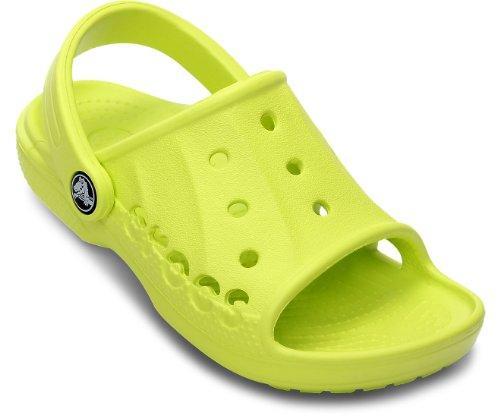 Crocs Baya Slide Kids, Mules garçon Citrus