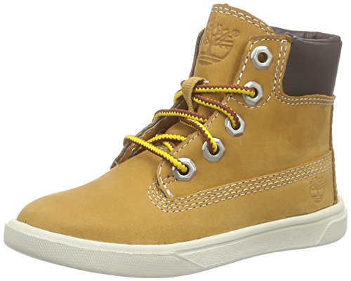 Timberland Groveton 6In Lace Wi, Baskets Hautes Mixte Enfant Wheat