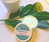 Peelingmousse Green Tea, vegan, ohne Palmöl, handgemachtes Peeling von kleine Auszeit Manufaktur