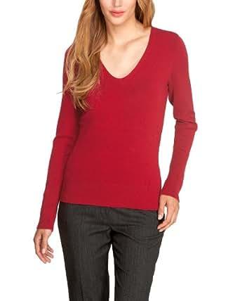 Comma Damen Pullover Regular Fit 85.899.61.0973 PULLOVER LANGARM, Gr. 34, Rot (3660 red)