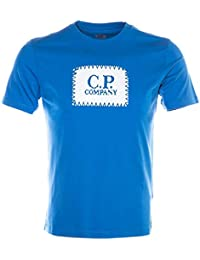 9d41e06c8bde CP Company Box Logo T Shirt in Blue