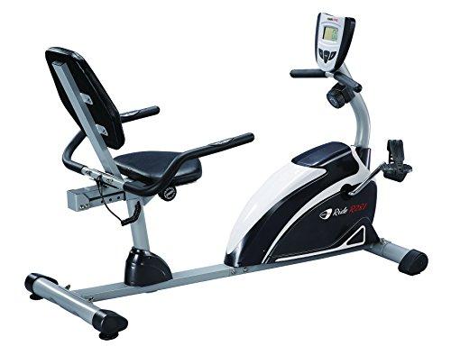 Cyclette reclinata Ride R281 RECUMBENT magnetica con volano da 6,5 Kg per allenamento home-fitness, portata max 110 Kg