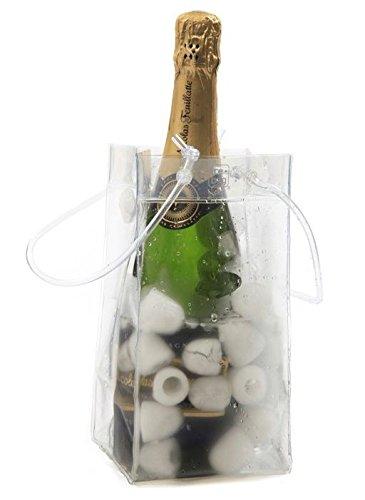 6 x Ice Bag Clear - Sac seau à glaçons - 0,3 mm