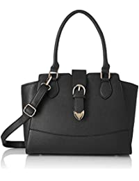 Satyapaul Women's Satchel (Black)