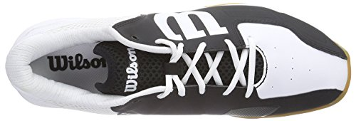 Wilson - Recon, Scarpe Da Tennis, unisex Black/White - 4 UK