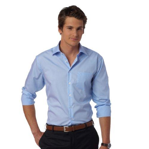 Seidensticker Herren Hemd/ Business 3100, Gr. 42 CM (L), Blau (11 Millraye hellblau)