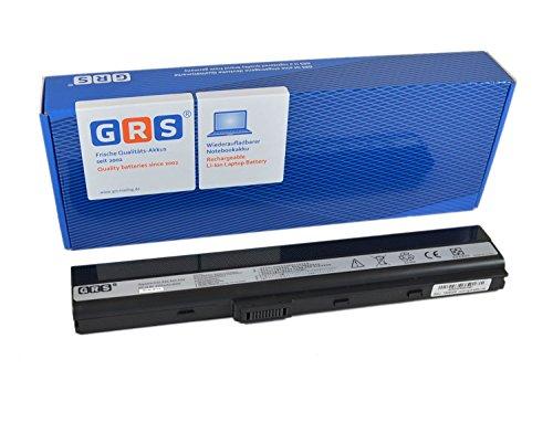 GRS Notebook Akku für ASUS A52J, K52JF, K52JK, K42F, K52JE, A52JB, K42JR, A52, K42JV, ersetzt: A32-K52, A31-K52, A41-K52, A42-K52, A31-B53, K52L681, 70-NXM1B2200Z, 90-NYX1B1000Y,Laptop Batterie 4400mAh, 10.8V