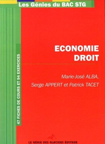 Economie-Droit Bac STG