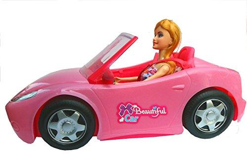 Brigamo 10681 – ✨ Puppen Auto Glam Cabrio mit Modepuppe ✨ - 2