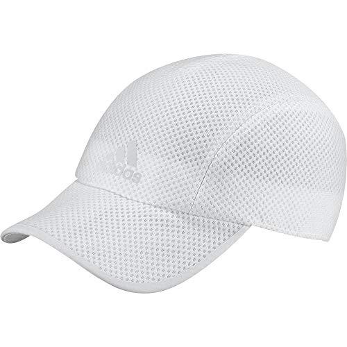 adidas R96 CC Cap Hat, White Reflective, One Size