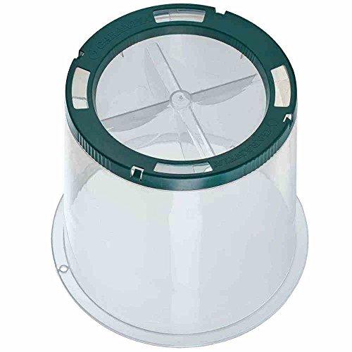 Garantia 645060 Sunny Pflanzglocke H: 30 cm, D: 35 cm, transparent (1 Stück)