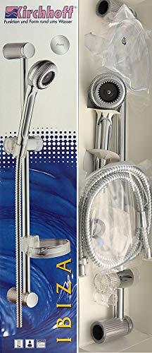 Brausegarnitur - Duschset | Duschkopf · Duschstange · Brausehalter · inklusive Seifenschale & Befestigungsmaterial | Kirchhoff Ibiza 10580