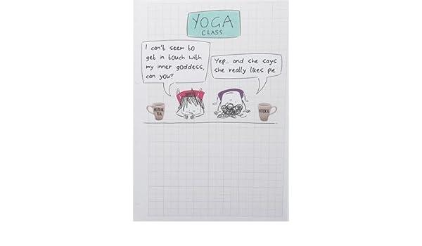 Birthday Yoga Birthday Funny Greeting Card Amazon Office
