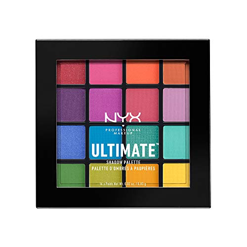 (15ml, Brights) - NYX PROFESSIONAL MAKEUP Ultimate Shadow Palette, Brights, 15ml