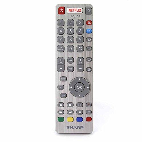 Fernbedienung für Sharp Aquos SHW/RMC/0116 RF UHD 4K LED Smart 3D TV'S - Mit zwei 121AV AAA Batterien enthalten Aquos Led