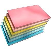 Toyvian Sello de Goma Que Talla Bloques Bloque de Doble Capa Sello de Goma para Scrapbooking Tarjetas Postales Tarjetas de invitación Proyecto de Bricolaje (Color Aleatorio)