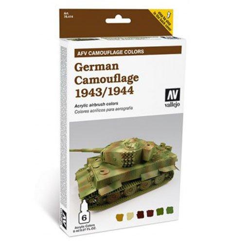 Vallejo German Camouflage 1943/44 8ml Paint