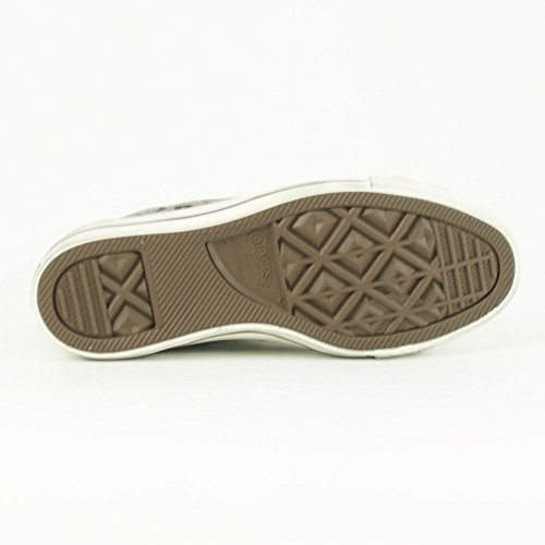 Converse, All Star HI Suede Print, Sneaker, Unisex - adulto Grigio/Nero