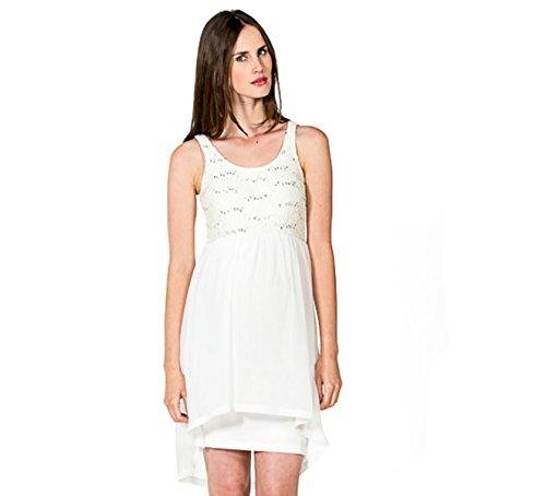 kleid Viola Bezauberndes Umstands-Brautkleid Hochzeitskleid (L (42-44), creme)