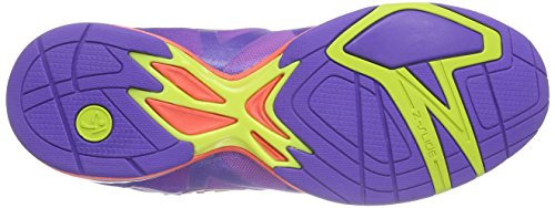 Zumba Footwear Flex II Remix High Damen Hallenschuhe Violett (Purple/Neon Orange)