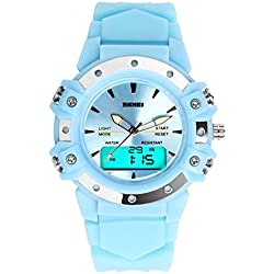 SKEMI Sports Mountaineering Waterproof Digital Watch for Female