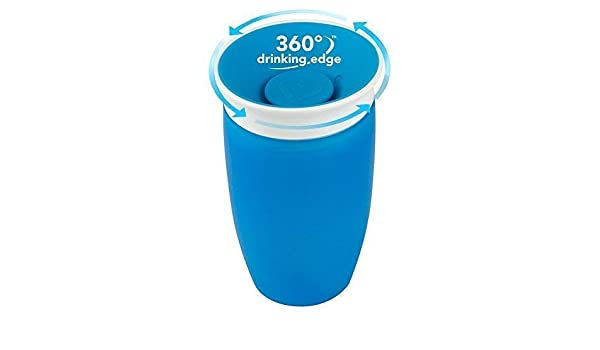 Wunder 360 Sippy Tasse 296 ml Blau Baby Wunder Turn Getr/änke Tasse Dekoration 360/° Sippy Tasse Anti Spill Munchkin